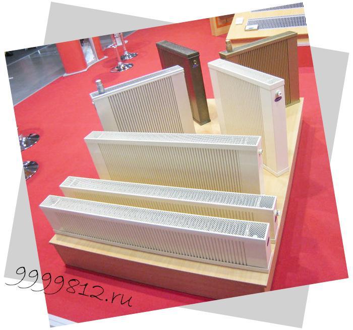 Подбор по мощности конверторных радиаторов отопления из расчета площади помещения
